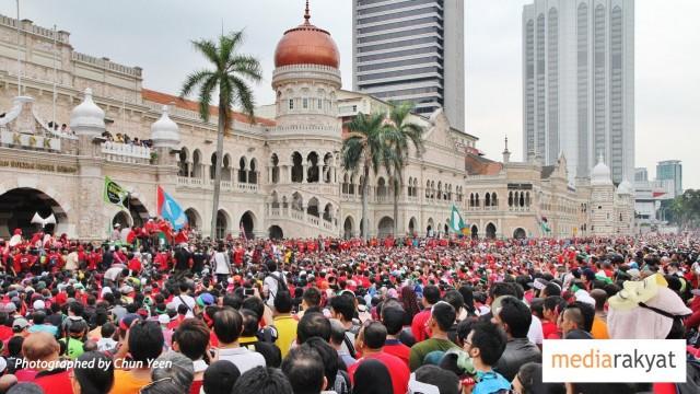 Anwar Ibrahim: Hari Ini Kita Kumpul Kerana Kita Menentang Sistem Penindasan Terhadap Rakyat