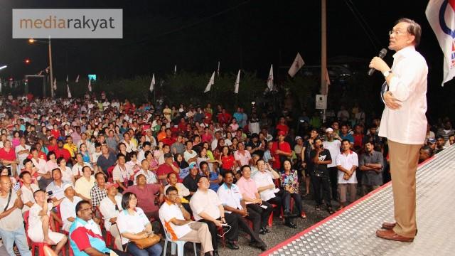 Anwar Ibrahim: Kalau Pemimpin BN Tak Hormat U, 31 Mei Kita Tolak BN & Sokong DAP