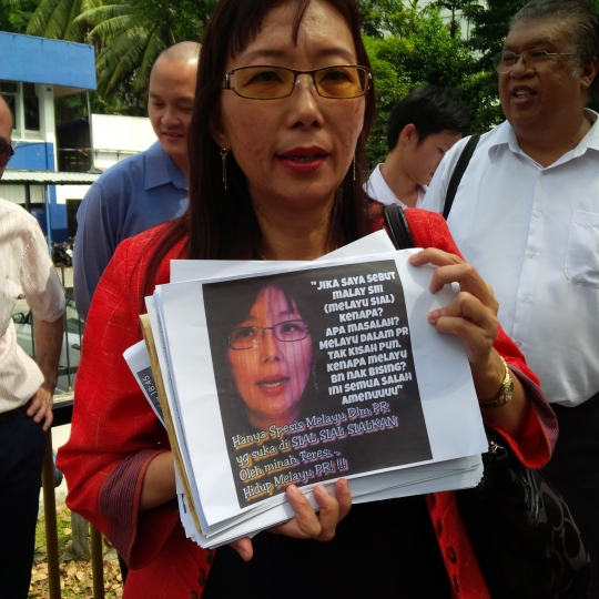 Teresa Kok to be charged with sedition tomorrow over 'Onederful Malaysia' video