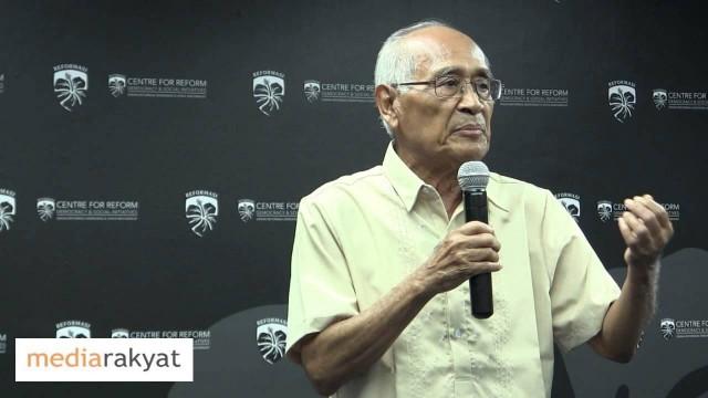 Dr Syed Husin Ali: Bagaimana Nak Kembalikan Unsur-Unsur Islam?