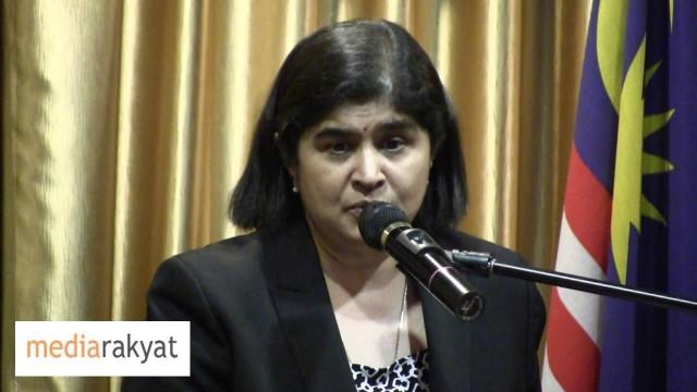 Ambiga Sreenevasan: Pakatan Rakyat Not Coming Strong Enough On Unilateral Conversions