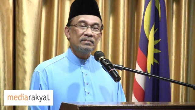Anwar Ibrahim: For Selangor, We Have Come To A Stage Where We Have To Give A Final Decision