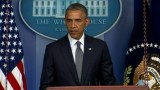 (Press Conference) Obama: MH17 shot down from area controlled by Russian separatists