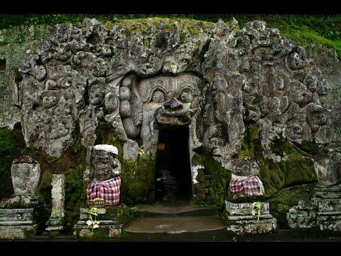 Elephant Cave (Goa Gajah) In Bali Indonesia 峇里島象洞