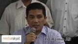Azmin Ali: TS Khalid Ibrahim Tidak Lagi Mempunyai Kuasa Legitimasi