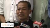 Saari Sungib: Keutamaan Saya Adalah Untuk Menyelamatkan Kerajaan Pakatan Di Selangor