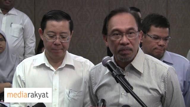 Anwar Ibrahim: Surat Kepada Tuanku Sultan Selangor Atas Nama 30 Adun Dengan Surat Perakuan Bersumpah