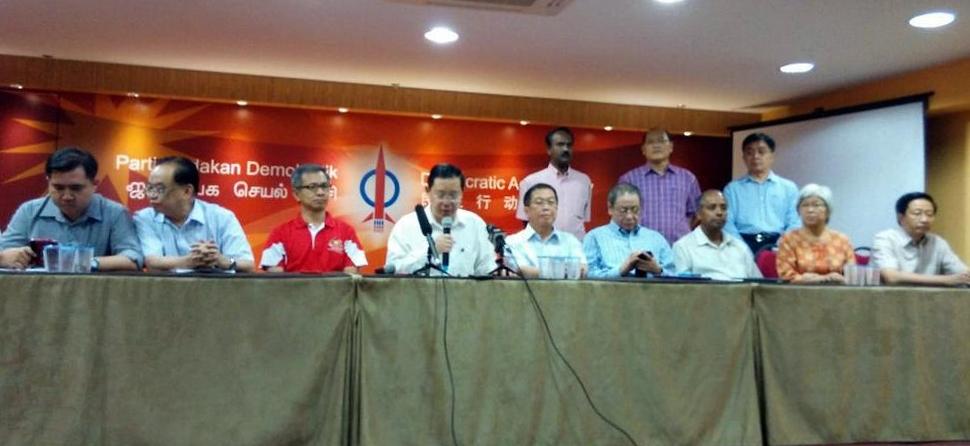 DAP menyokong cadangan Dr Wan Azizah kepada pimpinan PKR untuk mengesyorkan YB Azmin Ali sebagai MB Selangor yang baru