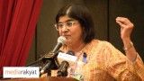 "Ambiga Sreenevasan: ""UMNO Celaka"" Is Seditious, What About ""DAP Celaka""? Seditious As Well?"
