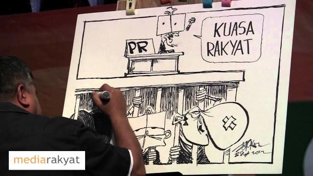 Zunar: Selepas PRU 13, KUASA RAKYAT !