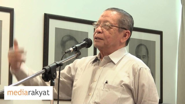 Lim Kit Siang 林吉祥: 努鲁依莎是马来西亚新一代的希望, 大家对她有一个很大的期望