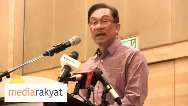 Anwar Ibrahim: Falling Oil Prices & Plunging Ringgit – Government Must Step Up To The Plate
