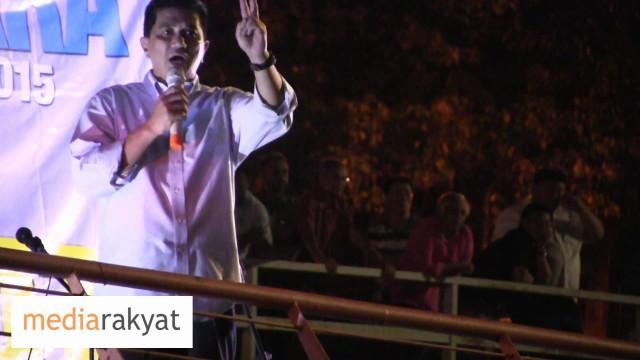 Azmin Ali: Najib, Rosmah, Hentikan Politik Curang, Hentikan Gutter Politics