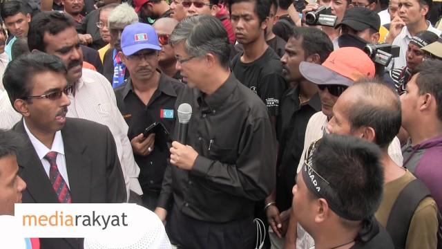 Tian Chua: Rakyat Tidak Sabar Lagi, Kita Tuntut Perubahan, Kita Tuntut Demokrasi & Kebebasan