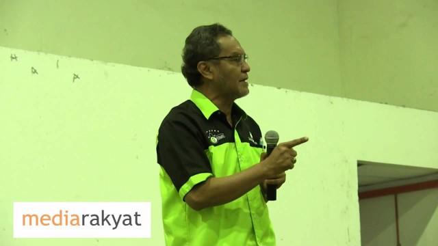 Dr Dzulkefly Ahmad: Najib Memang Menghitung Hari-Hari Akhirnya, He Is Counting His Days