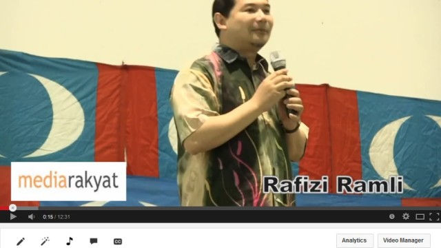 Diamond ring remark a joke, says Rafizi in defence of suit by Najib, Rosmah