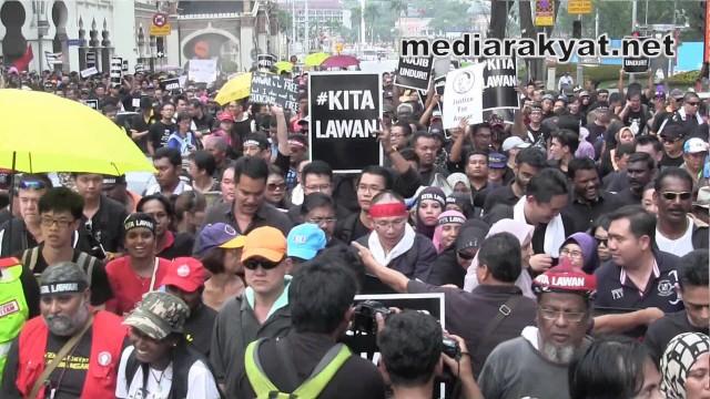 (#KitaLawan Rally) Nik Nazmi: Masa Sudah Sampai Untuk Najib Berundur