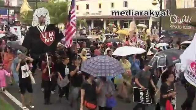 (#KitaLawan Rally) Ale Ale Malaysiaku