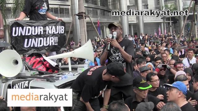 (#KitaLawan Rally) Sivarasa Rasiah: Kita Berhimpun Sebab Kita Ditipu Oleh Badan Kehakiman