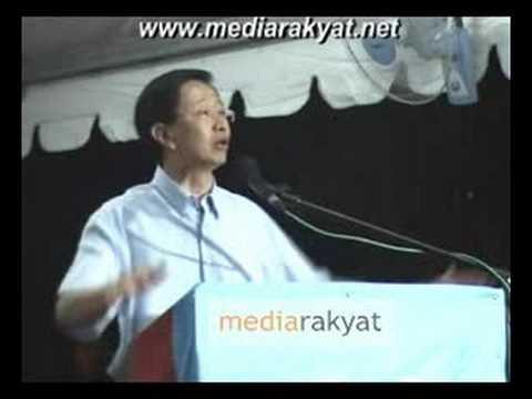 (福建话)Teng Chang Khim 邓章钦:不管是白老鼠还是黑老鼠,我们的猫都会把全部的老鼠抓起来
