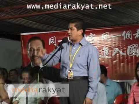 Azmin Ali: Buat Apa Saya Sokong Melayu, Tapi Melayu Itu Tidak Hormat Orang Cina & India