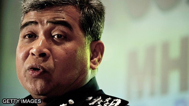 BBC: What is Malaysia's top cop doing on Twitter?