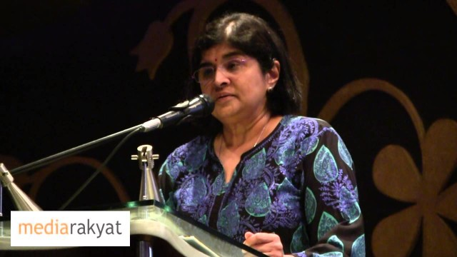 Ambiga: Drop sedition charges if not wrong to criticise Putrajaya