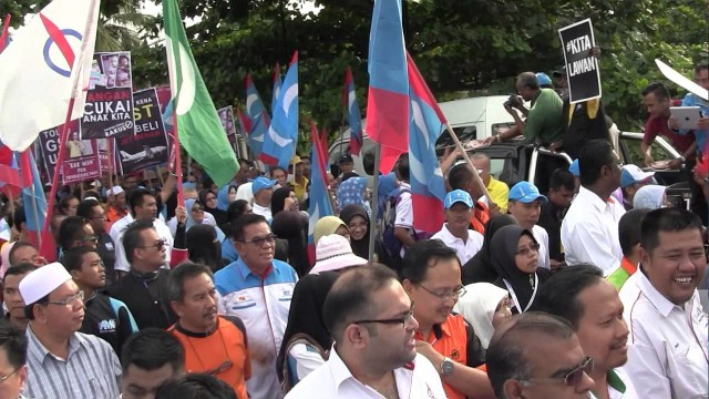 Dr Wan Azizah: Anti GST, Undilah Keadilan, Ingat Anwar, Undilah Keadilan