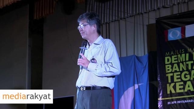 Tian Chua 蔡添强 : 有峇東埔人民的支持,才有改革的希望,有你们的坚持,才有今天