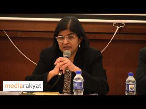 Ambiga Sreenevasan: Don't Let It Stop You To Say Thing, Don't Self Censor, Continue To Speak Up