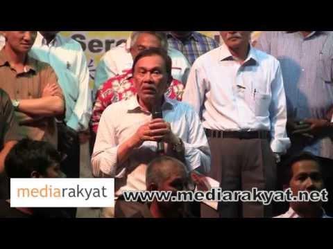Anwar Ibrahim: Kenapa Najib Tak Boleh Jawab, Sebab Dia Tipu, Dia Bohong