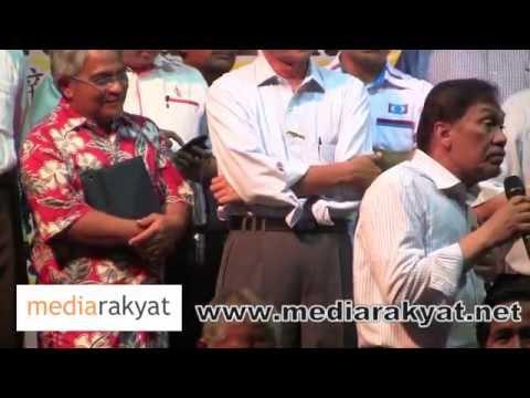 Anwar Ibrahim: U Bagi UMNO Itu Kalah & Bankrap, Baru Boleh Selamat Ini Negeri