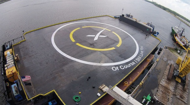 NASA – Watch As SpaceX Tries to Land a Rocket on a Barge, For the Third Time