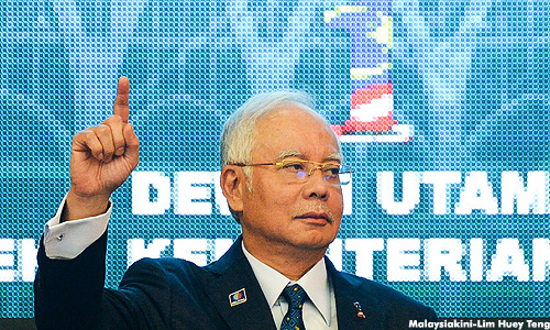 Najib: Dialogues must be done 'calmly and nicely'