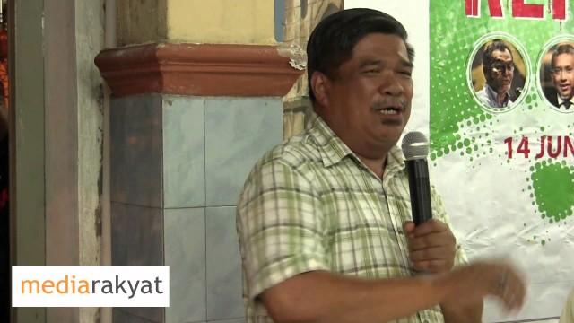 Mat Sabu: Ada Orang Yang Nak Beri Nafas Kepada UMNO Sekarang, Kita Lawan!