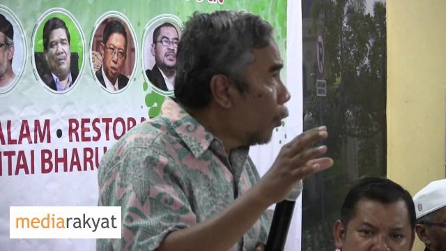 Dr Hatta Ramli: Patriotisme Ini Kita Sanggup Melawan Yang Pemimpin Negara, Demi Negara
