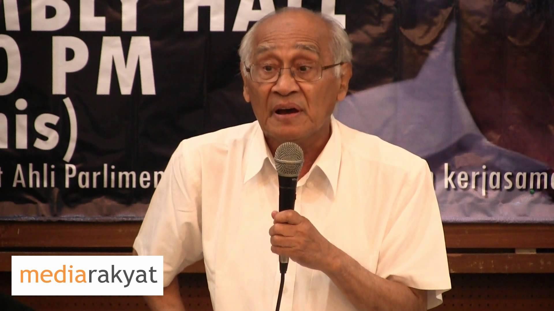 Dr Syed Husin Ali: Keadaan Dalam Penjara Sangat Teruk