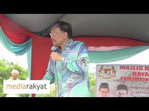 Anwar Ibrahim: Orang Melayu Miskin Sebab Pemimpin Melayu Yang Rasuah Ambil Wang Kita