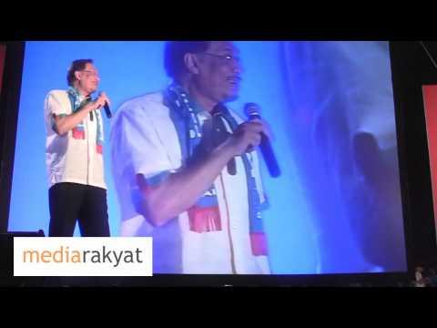 Anwar Ibrahim: Debat, Dato' Seri Najib, Takut Apa? Kamu Perdana Menteri