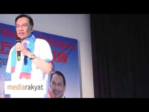 Anwar Ibrahim: Kita Mahu Beritahu Najib & UMNO, Enough Is Enough, Rakyat Mahu Ubah & Merdeka