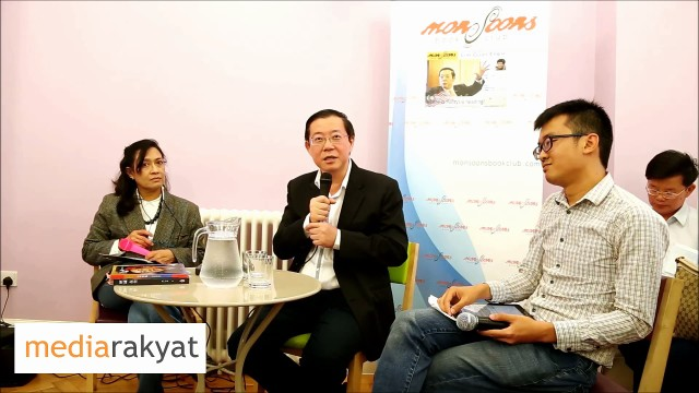 Lim Guan Eng: Malaysia Is In A State Of Crisis & Solution Toward Resolving The Crisis
