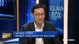 "CNBC: Malaysian MP Wong Chen On ""Malaysian PM Najib Razak accused of corruption"""
