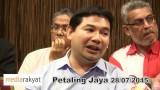 Rafizi Ramli: Put The Country Back On Track, Selamatkan Malaysia
