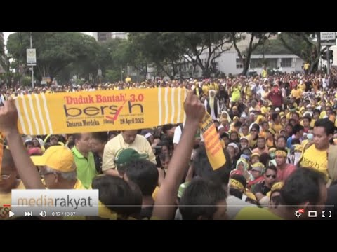 Suara Rakyat. People's Voice. 人民之声