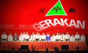 Gerakan: Ministers To Stop Themselves From Becoming The Laughing Stock Of The World