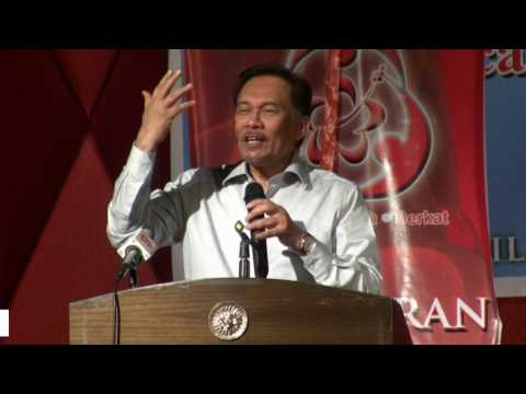Anwar Ibrahim: I Am Agent 007 James Bond