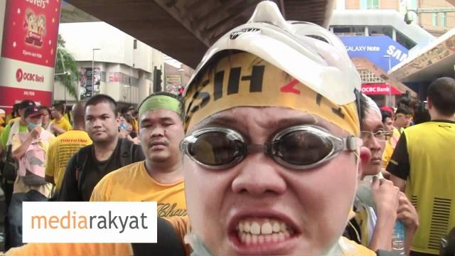 Say Something To Najib?