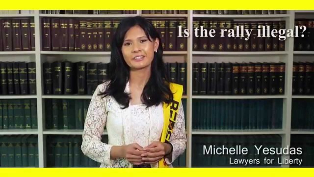 Is the BERSIH Rally Illegal? What to do if you get arrested?