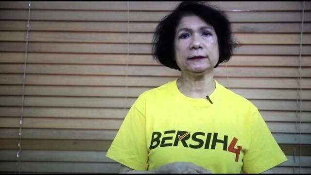 (Bersih4Malaysia) Noor Farida Ariffin: Sertai Bersih 4, Bersihkan Kerajaan Kita