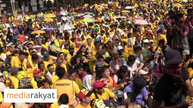 Ambiga Sreenevasan: Kita Mahu Kerajaan Yang Bersih, Kita Mahu Negara Yang Bersih